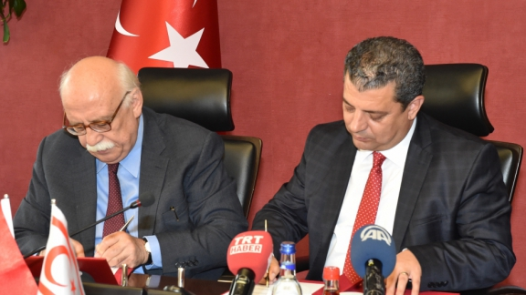 Protocol signed between the Ministry of National Education and TRNC Ministry of National Education